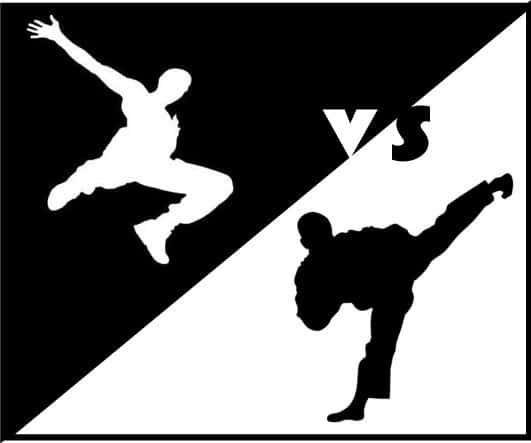 Martial Arts vs. Parkour