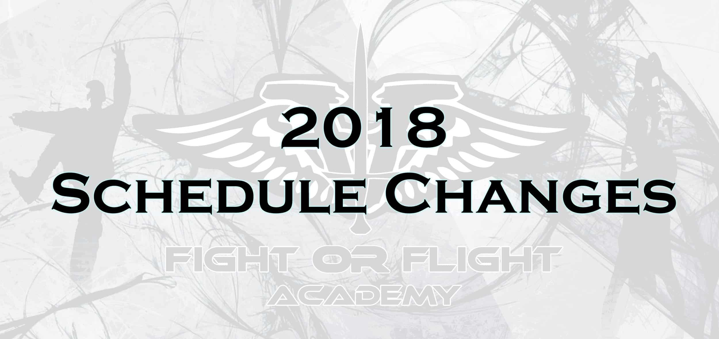 Huge Schedule Changes Coming in February