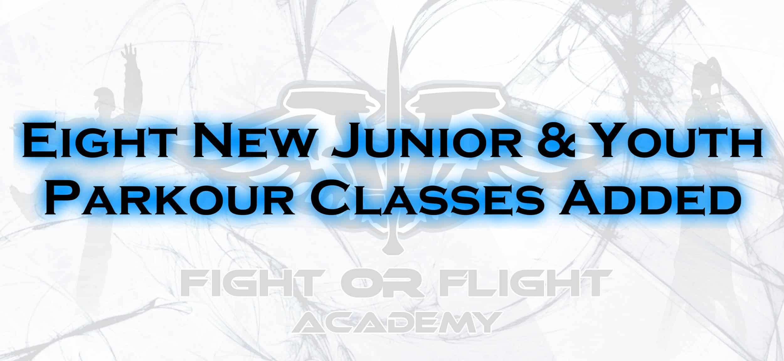 New Junior and Youth Parkour Classes. Including weekend mornings!