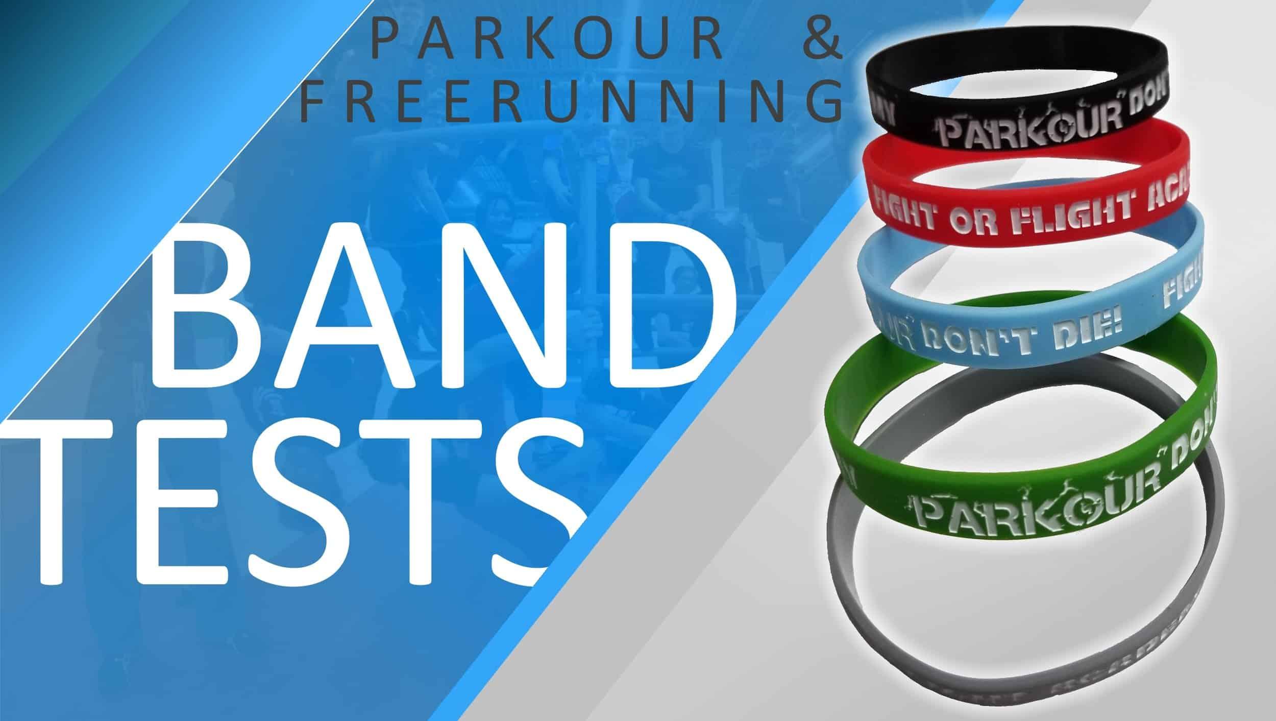 Parkour & Freerunning Band Testing