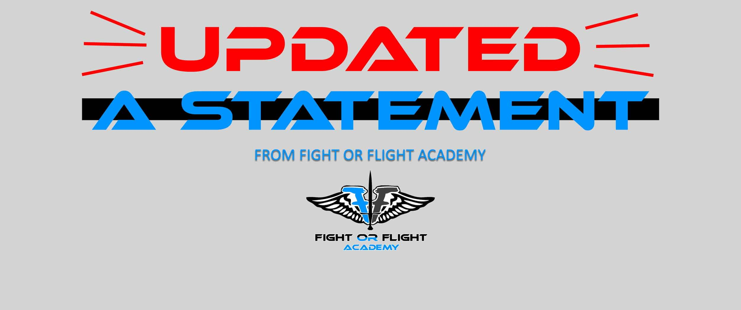 UPDATED Statement | COVID-19 Update